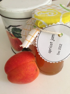 apricot jam and apricot