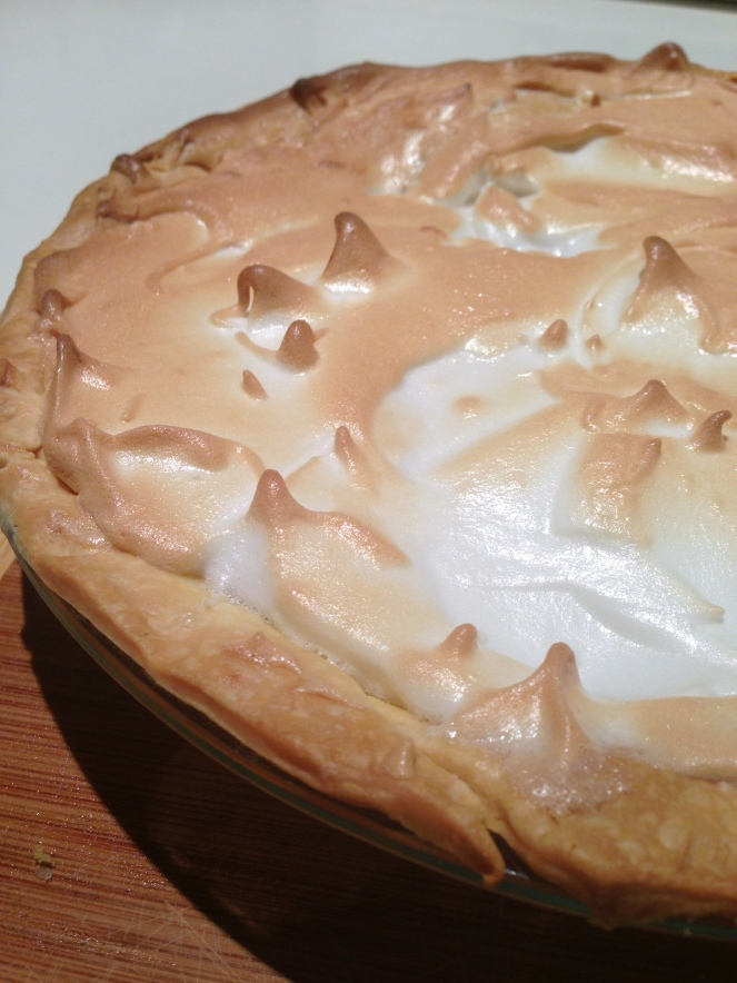 Miss Drake's Lemon Meringue Pie