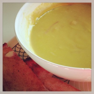 Traditional Pea and Ham soup