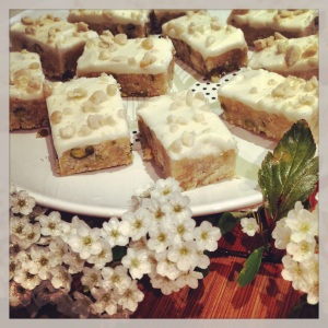 Nutty Lemon Slice afternoon tea