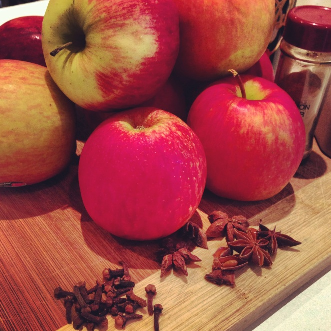 spiced applesauce ingredients