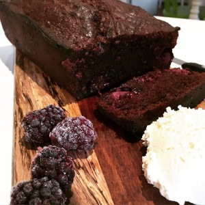 Chocolate Blackberry Loaf